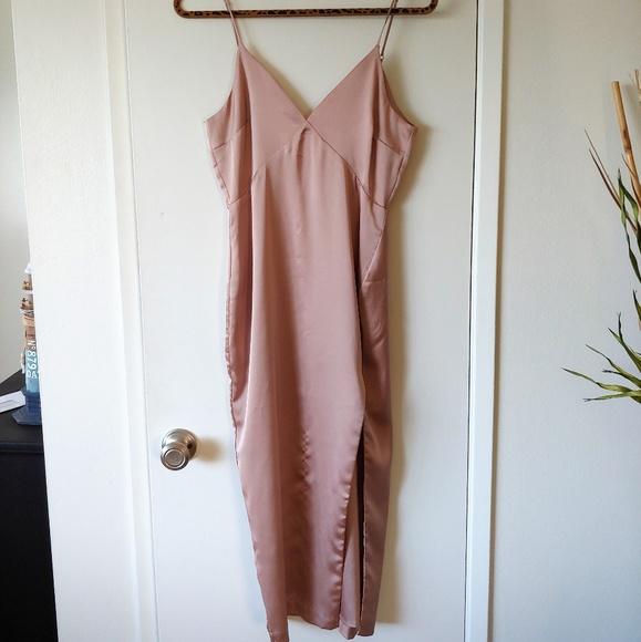 Cotton Candy Dresses & Skirts - COTTON CANDY LA SATIN DRESS